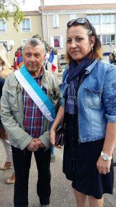 Lucie Desblancs et JP Simoni - Souvenir génocide Armenie a Allauch