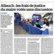 Frais de Justice du maire d'allauch, M Povilnelli, votés sans dicussion, opposition muselée... Ambiance des conseils municipaux à Allauch
