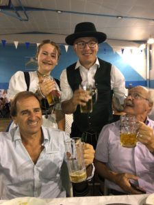 Lucie Desblancs à la Fête de la bière à Allauch
