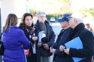 Lucie Desblancs à la rencontre des Allaudiens, à Allauch. A l'écoute de leurs problèmes, la candidate aux élections municipales 2020 entend être au plus prés des habitants d'Allauch dont nombre de questions sont sans réponse depuis des années.