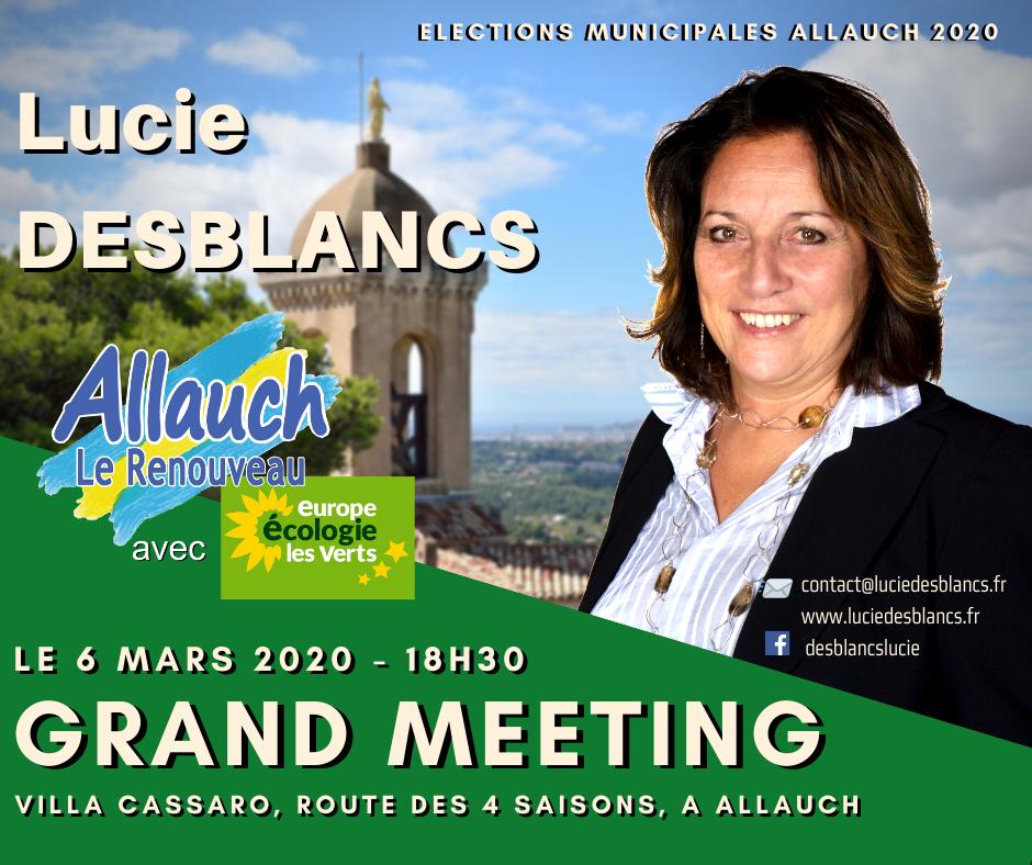 Grand meeting Lucie Desblancs le 6 mars 2020 villa cassaro à Allauch
