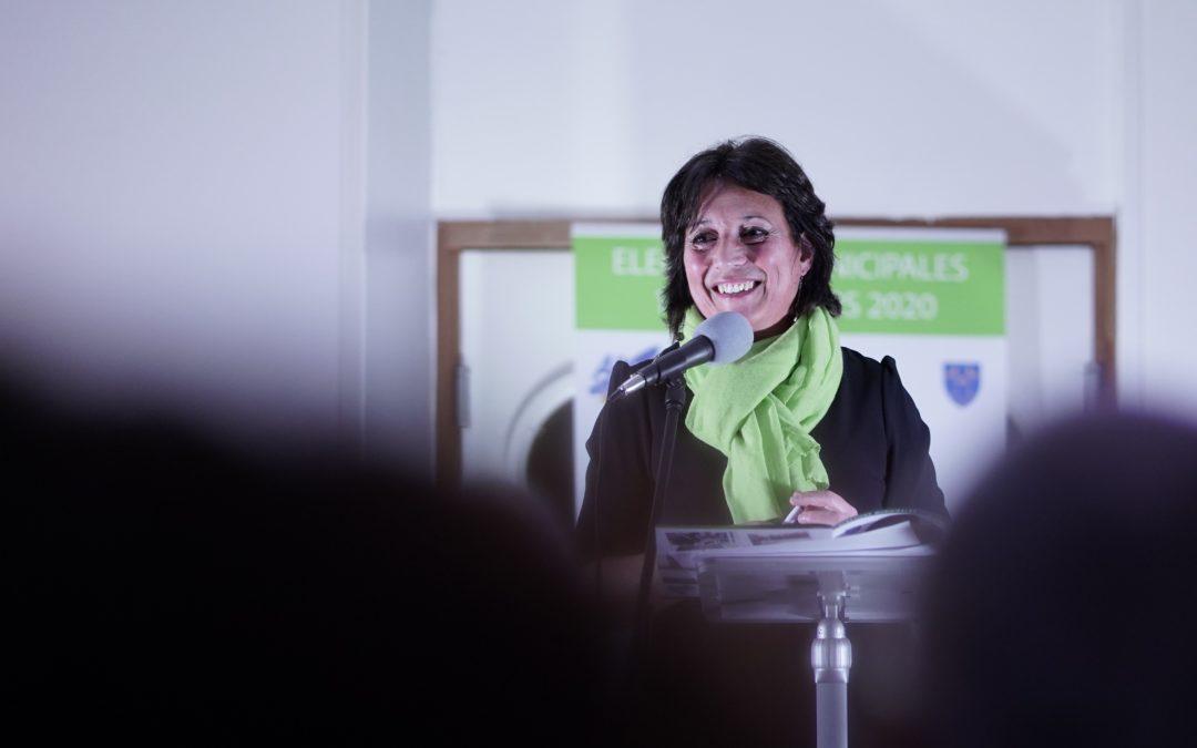 Grand Meeting de Lucie DESBLANCS  et ALLAUCH LE RENOUVEAU